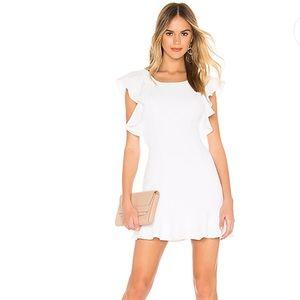BCBGeneration Ruffle Sleeve Mini Dress EUC